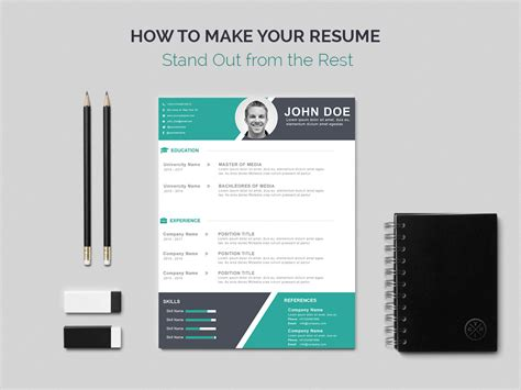 teacher resume template sleek gray and white leadership roles