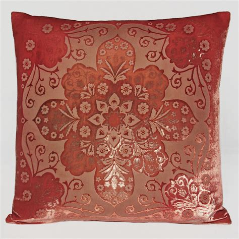 Moroccan Decorative Pillows by Kevin Obrien Velvet Moroccan Decorative Pillow Shop