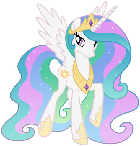 Image   FANMADE Princess Celestia Walking.png   My Little