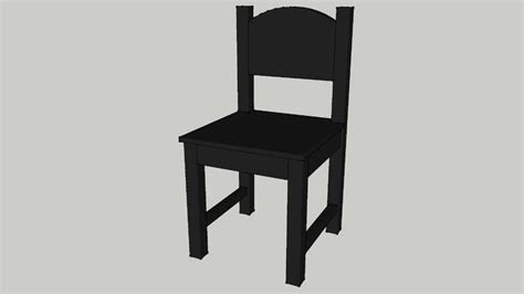 sundvik chair ikea sundvik children s chair black 3d warehouse