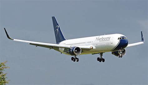 boeing 767 interni blue panorama airlines entrato in flotta il nuovo boeing
