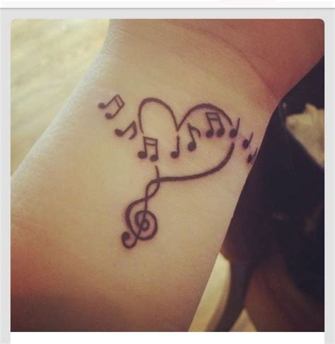 tattoo heartbeat music music heart tattoo musictattoos pinterest