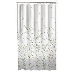 Dragonfly Shower Curtains Maytex Dragonfly Garden Fabric Shower Curtain Home Kitchen