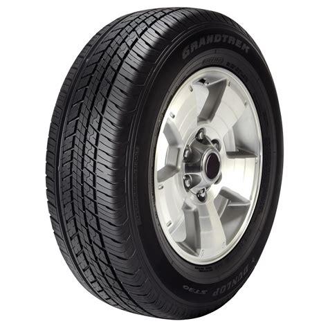 dunlop light truck tires dunlop grandtrek st30 p245 65r17 105s sl bsw all