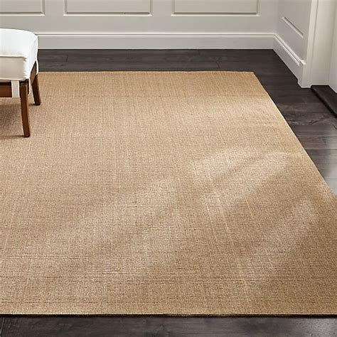 sisal rugs sisal almond rug crate and barrel