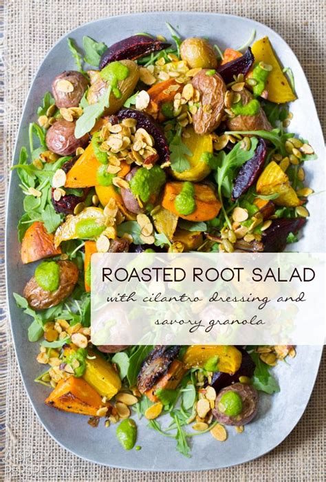 roasted root vegetables thanksgiving roasted root vegetables salad recipe granola
