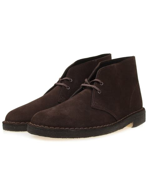 clarks originals desert boots brown suede clarks