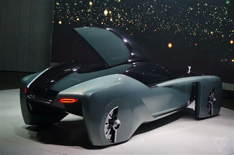 rolls royce vision 100 the rolls royce vision 100 concept is completely