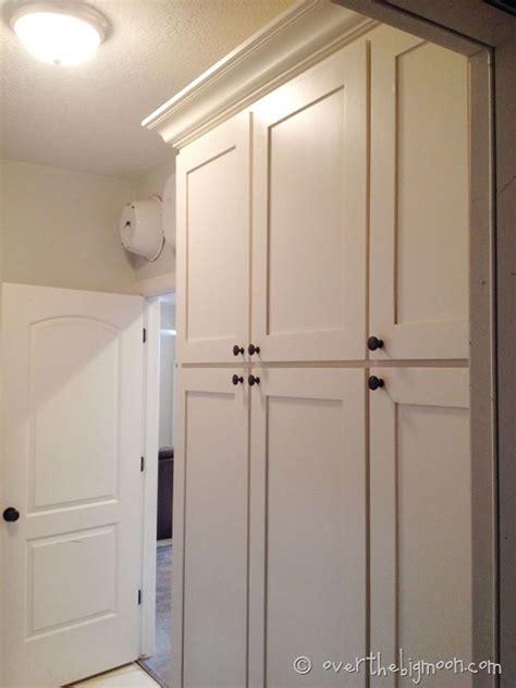 Top Shelf Light Laundry Room Renovation