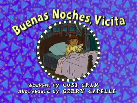 arthur title cards season 11 vicita going to bed