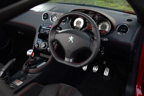 peugeot coupe rcz interior peugeot rcz r private fleet