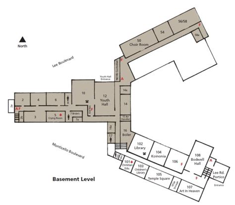 Level Floor Plans by Rental Info Floor Plans Forest Hill Presbyterian Church