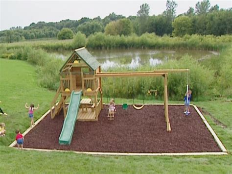 Diy Home Playground Ideas Backyard Playground Diy 187 Woodworktips