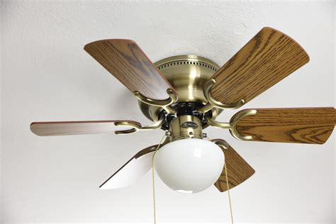 ceiling fan with cord ceiling fan antique brass with pull cord 76 cm 30