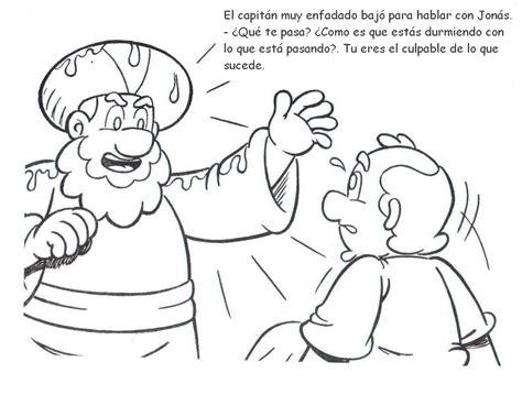 imagenes biblicas de jonas historias biblicas para colorear historia de jon 225 s mi