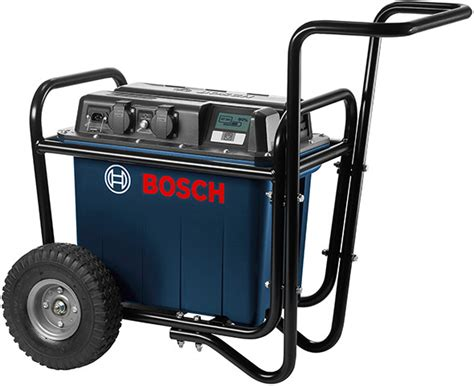 bosch bank new bosch mobile battery bank powers your corded tools