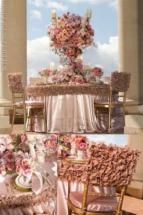 Wedding Linens by Luxury Linens From Wildflower Aislinn Events