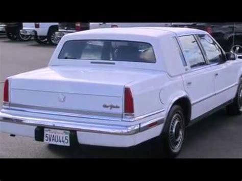 92 Chrysler New Yorker by Pre Owned 1990 Chrysler New Yorker Ca 95673