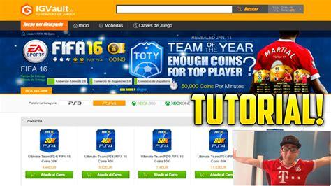 tutorial comprar monedas ut como comprar monedas para fifa tutorial igvault robert