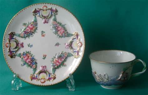 doccia porcelain doccia porcelain teacup and saucer c 1780