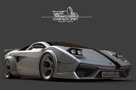 classic lamborghini countach lamborghini countach spirit concept car countach spirit