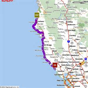 northern california coastline map mistered s dot page