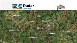 atlanta weather forecast radar temperatures for