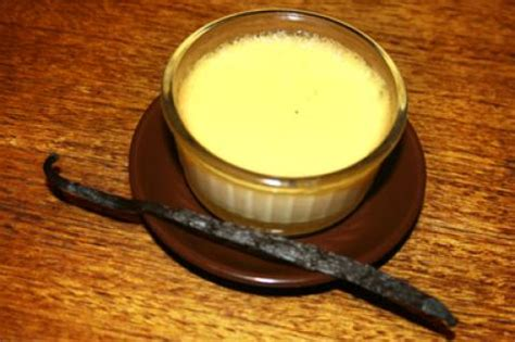 recette flan aux oeufs  la vanille