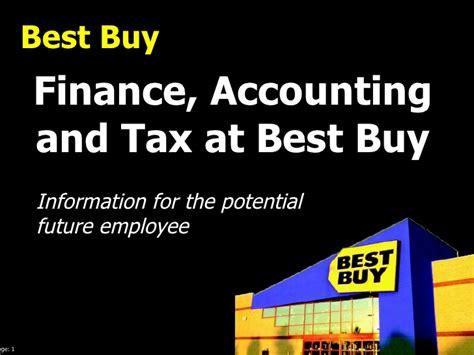 finance best buy best buy careers in finance accounting or tax
