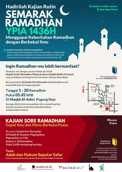 Kaos Muslim Spesial Ramadhan Vii contoh dakwah puasa ramadhan contoh two