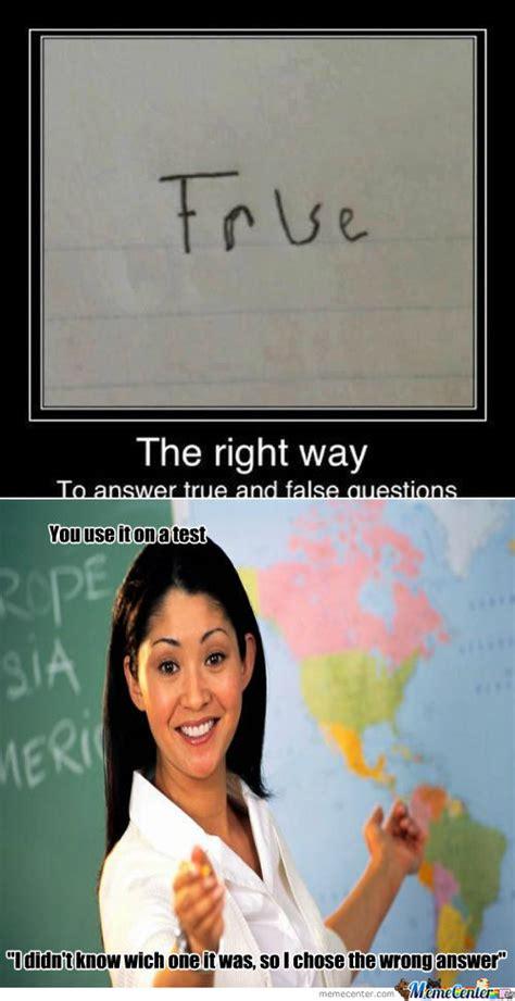False Quotes Meme - true or false memes are instinctive image memes at