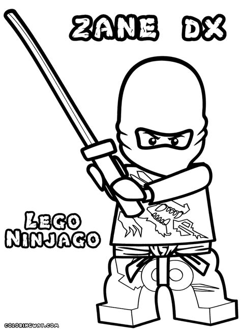 ninjago coloring pages zane zx 14 ninjago zane coloring pages lego ninjago coloring