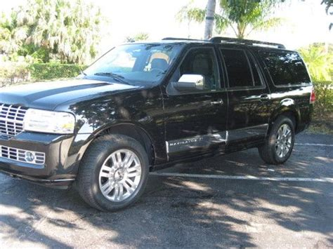 automobile air conditioning service 2011 lincoln navigator l parental controls sell used 2011 lincoln navigator l florida 1 owner black ultimate priced to sell today in