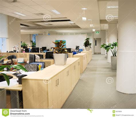 id馥 d馗o bureau de travail lieu de travail de bureau images libres de droits image