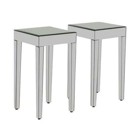 mirrored end table target 73 target target mirrored side tables tables