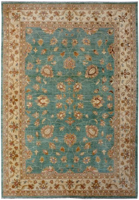 Turquoise Green Rug turquoise green oushak rug 6 9 quot x 9 9 quot ft