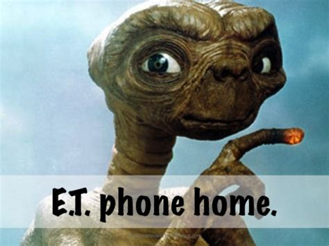 Phone Call Home Meme - the top movie quotes of all time in afi s 100 years 100