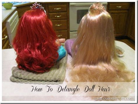 Matted Hair Detangler by How To Detangle Doll Hair How To