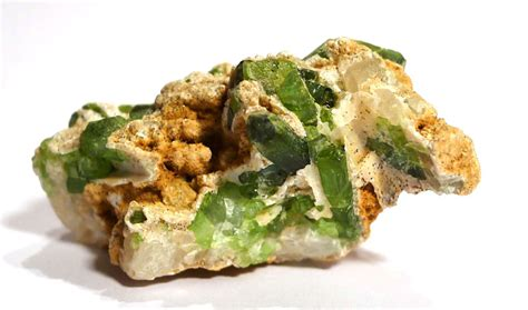Verdelite Green Tourmaline verdelite green tourmaline in matrix rebel crystals