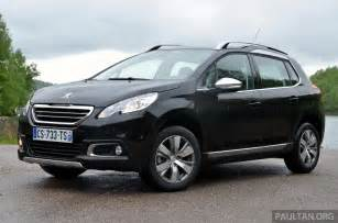 2008 Peugeot Crossover Driven Peugeot 2008 Crossover In Alsace Image 220409