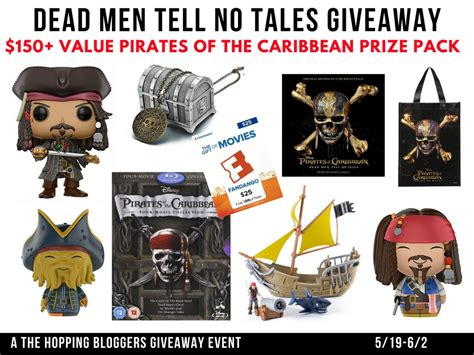 Of The Caribbean Dead Tell No Tales Teks Indonesia of the caribbean giveaway 150 value and their pretties
