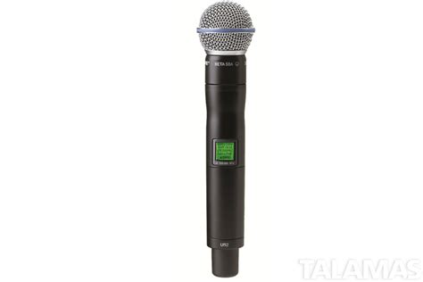 Mic Wireless Shure Ur 800 rental shure ur4d ur2 wireless microphone system with