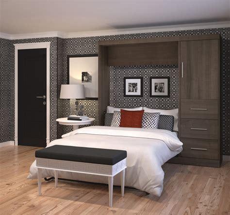contemporary murphy beds bestar nebula 84 inch full sized wall bed kit contemporary murphy beds by