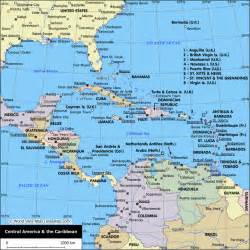 map of united states and caribbean map of central america and the caribbean central america
