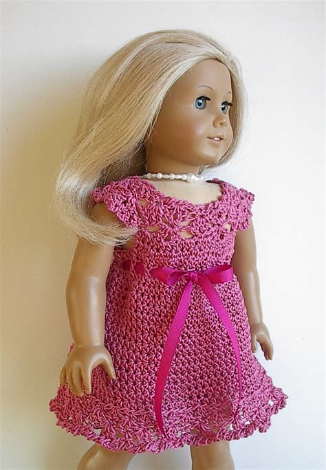 18 inch doll clothes 18 inch doll clothes sale 20 crocheted cotton dress or