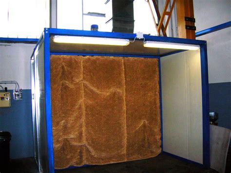 cabina verniciatura cabine di verniciatura a spruzzo con sistema di