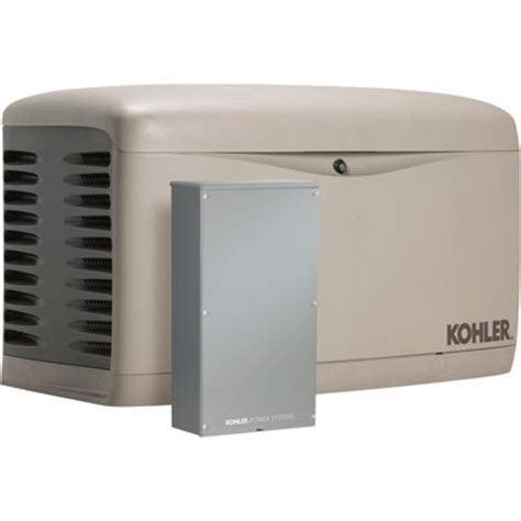 kohler 14resal residential standby generator with 100