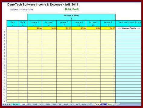 business expense excel template monthly business expenses template free expense report