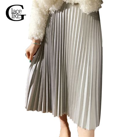 lace vintage fashion pleated skirts skirt