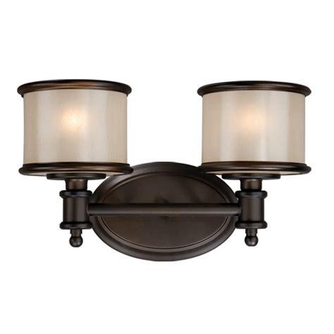 Bronze Vanity Lights by Edmonton 2 Light Vanity L Noble Bronze